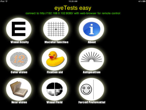 Eye Tests Easy